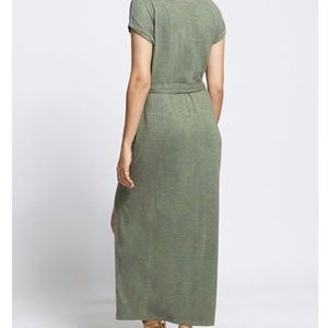 Sanctuary Dresses - Sanctuary Isle T-Shirt Maxi Dress Cadet S-M
